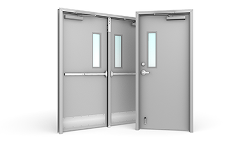 Hollow Metal Doors and Frames - Ahner Commercial Doors & Windows